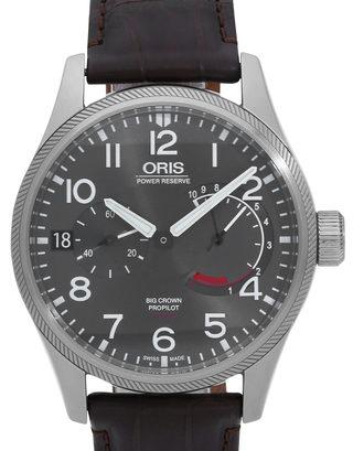 398508824 Oris Big Crown ProPilot 01 111 7711 4163-07 1 22 72FCS - 43 mm Leather for  Sale | Watchmaster.com