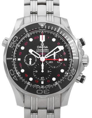 Omega Seamaster Diver 300 M GMT Chronograph 212.30.44.52.01.001