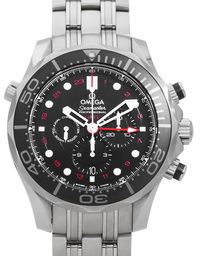 Omega Seamaster Diver 300 M GMT Chronograph 212.30.44.52.01.001