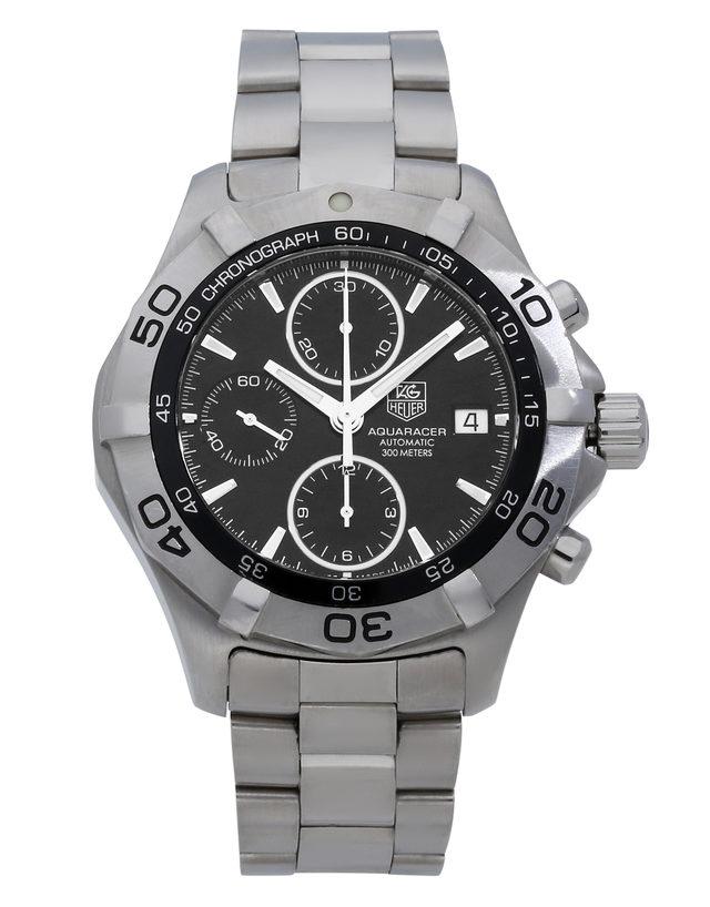 18bcdc07254 TAG Heuer Aquaracer CAF2110.BA0809 - 41 mm Steel for Sale | Watchmaster.com