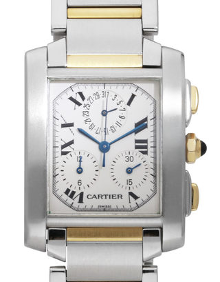 Cartier Tank Francaise Chronoflex W51004Q4
