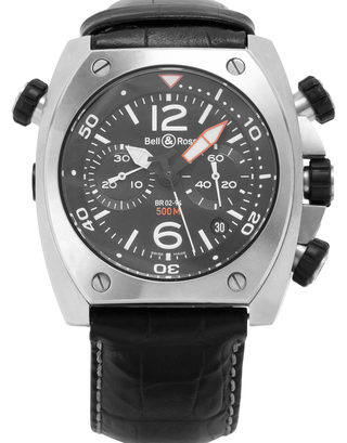 Bell and Ross BR02-94 Chronograph Carbon