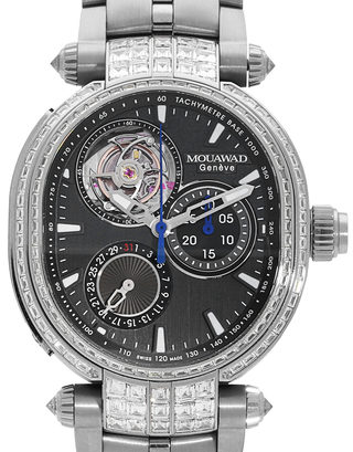Mouawad Grande Ellipse Chrono Monopoussoir Tourbillon 22211523
