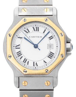 Cartier Santos Octagon 2966