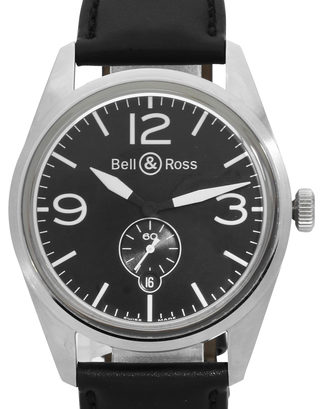 Bell and Ross BR 123 BRV123-BL-ST/SCA