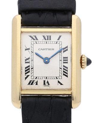 Cartier Tank Vermeil 878087