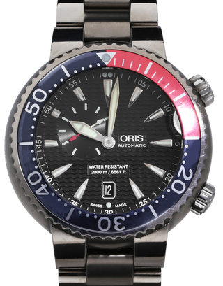 Oris Diving Carlos Coste Limited Edition 01 643 7584 7154-Set