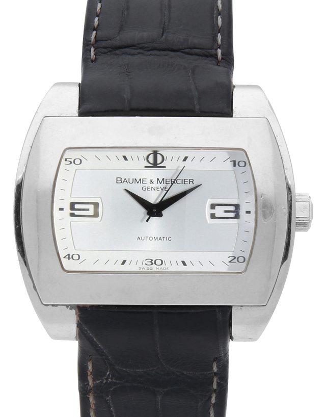 94ffe1e2b Baume et Mercier Hampton City 65402 - 42 mm Leather for Sale    Watchmaster.com