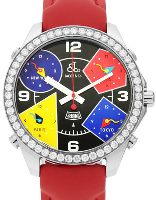 Jacob & Co Five Time Zone JC-325-11
