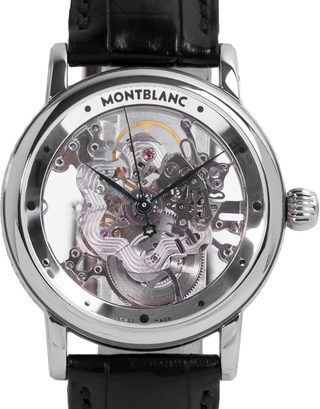 Montblanc Skeleton Star Watch 05646