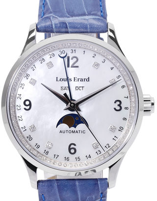 Louis Erard 1931 Diamonds Moonphase  31218AD24