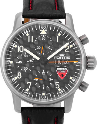 Fortis Flieger Professional Chronograph Ducati Edition  597.22.141