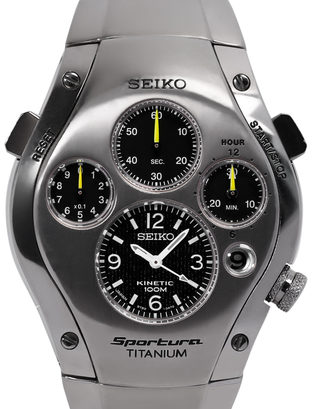 half off 0f3e0 95bb1 Seiko Sportura Kinetic 9T82-0A60