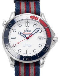 Omega Seamaster 300m Commander's Watch Limited Edition