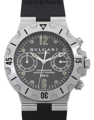 Bvlgari Diagono Chronograph SCB38S