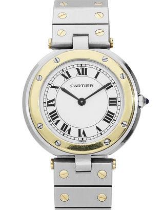 Cartier Santos Ronde Quartz
