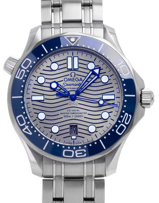 Omega Seamaster Diver  300M Co-Axial Master Chronometer  210.30.42.20.06.001