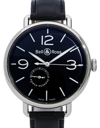 Bell and Ross Power Reserve BRWW197-BL-ST/SCR