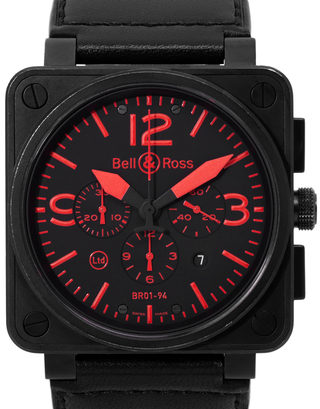 Bell and Ross BR01-94 Chronograph BR01-94-S RED