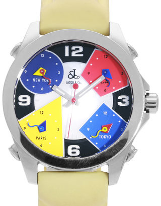 Jacob & Co Five Time Zone JCM-4