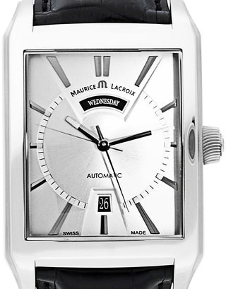 Maurice Lacroix Pontos Rectangulaire Day Date  PT6237-SS001-13E-1