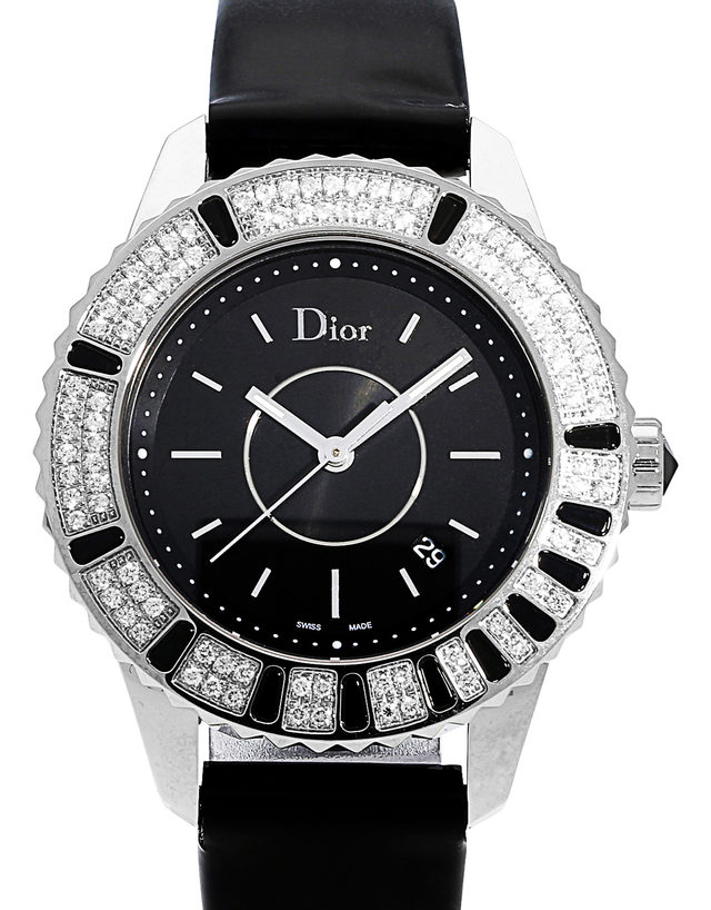 46a995f9508 Dior Christal Ladies CD11311B - 33.5 mm Leather for Sale ...