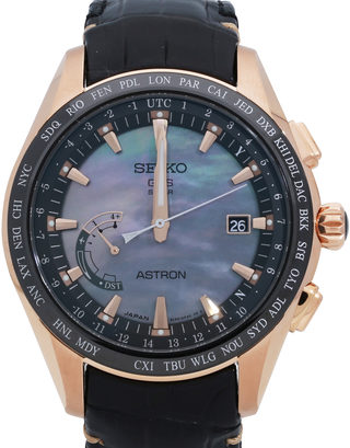 Seiko Astron GPS Solar World Time Novak Djokovic Limited Edition SSE105