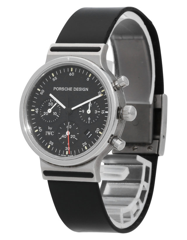 Iwc Porsche Design 3720 32 Mm Rubber For Sale Watchmastercom