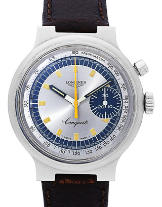 Longines Conquest Munich Olympic Games Manual Winding