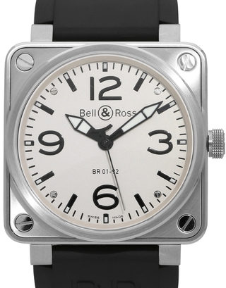 Bell and Ross BR01-92 BR0192-WH-ST