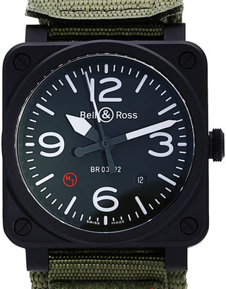 Bell and Ross BR03-92 BR0392-BL-CA