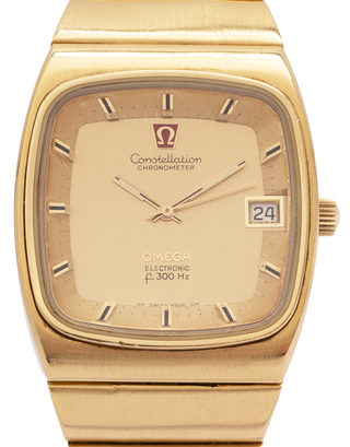Omega constellation electronic f300Hz 198.0028