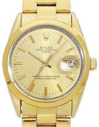 Rolex Oyster Perpetual Date 15505