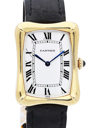 Cartier Coussin Bamboo Tank  Vintage