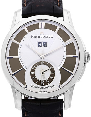 Maurice Lacroix Pontos Grand Guichet GMT Limited Edition PT6228-SS001-130