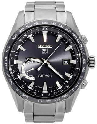 Seiko Astron GPS Solar World Time SSE085J1