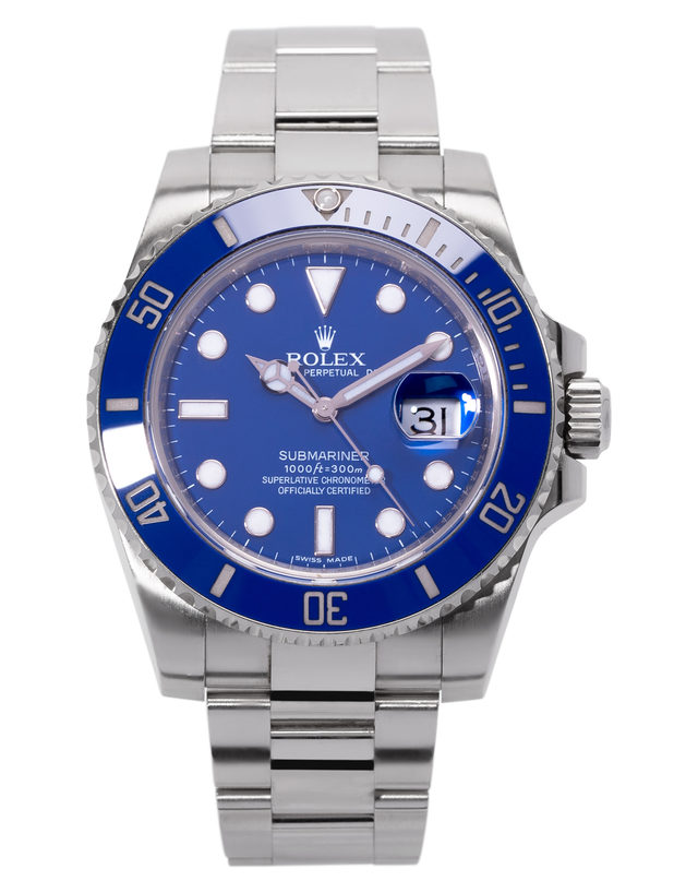 61b79234f8b Rolex Submariner 116619 LB - 40 mm Or Blanc à Vendre