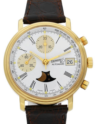 Eberhard & Co. Anniversary Moon Phase Chronograph Limited Edition